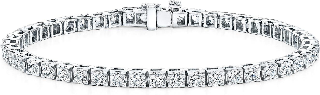 18k 18ct White Gold Filled Ball Link Necklace Bracelet Sets S-A524