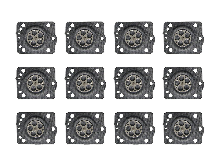 C/·T/·S Diaframma di misurazione del carburatore per Motosega ZAMA C1T Husqvarna sostituisce ZAMA A015058 Confezione da 12