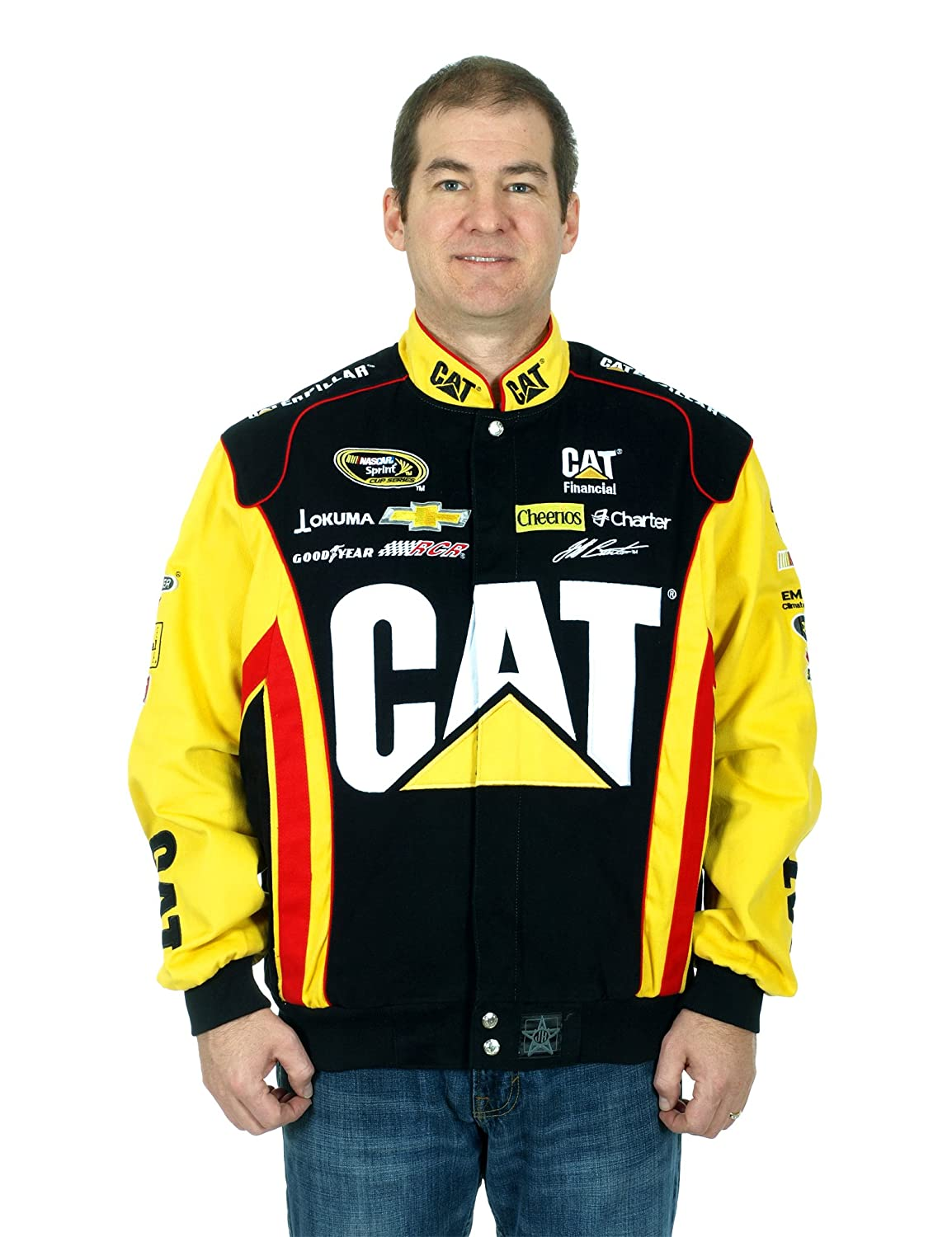 Jeff Burton Caterpillar Racing Nascar Jacket