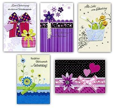 Amazon com : Taunus 51-8484 Handmade Greetings Cards for Birthdays