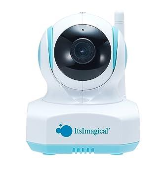 itsImagical Icam secura Baby, Cámara de vigilancia a Distancia para Smartphone (Imaginarium 81068)