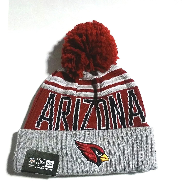 New Era NFL ARIZONA CARDINALS 2015冬Blazeグレーニットビーニー帽子   B01711F12C