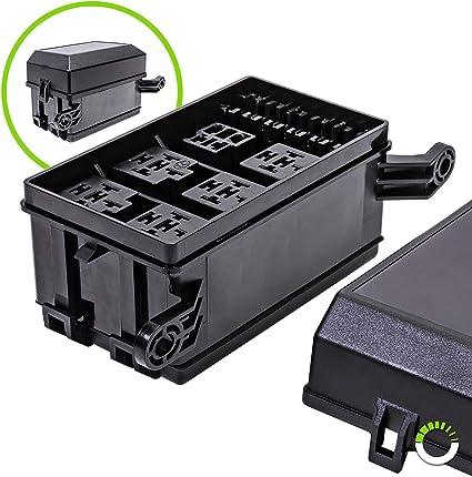 OLS económica del relé caja [Bosch estilo relés] [fácil instalación] [OEM Factory Look] – Fusible caja del relé para Automóvil y uso marino: Amazon.es: Coche y moto
