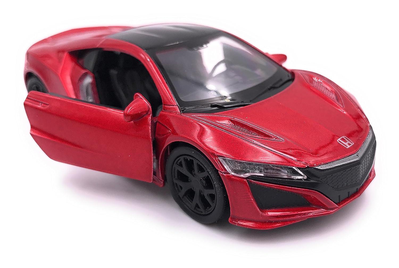 39 rojo Producto con licencia para autom/óvil miniatura de coche modelo NSX de Welly Honda NSX 1 34-1