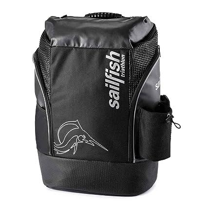 Mochila Sailfish 35 Litros – Backpack Cape Town (Black / Silver)