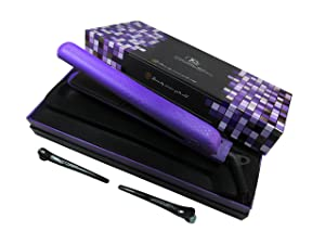 Royale Hot Tools Classic Purple Flat Iron/Hair straightener 1-1/4