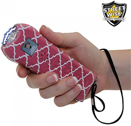 08be567e00a Amazon.com   StreetWise Ladies Choice 21 Million Volt Rechargeable Stun Gun  with Alarm and Flashlight