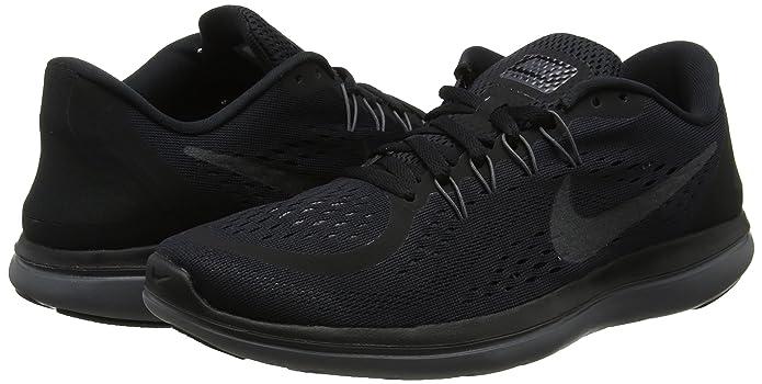 Amazon.com   Nike Womens Flex 2017 Running Shoes Black/Metallic Hematite-Anthracite-Dark Grey 6   Road Running