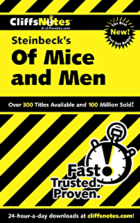 Of mice and men kindle edition by john steinbeck susan cliffsnotes on steinbecks of mice and men cliffsnotes literature guides fandeluxe Choice Image