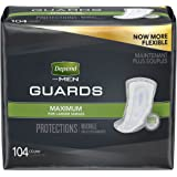 Depend Incontinence Guards for Men, Maximum Absorbency, (Packaging May Vary)
