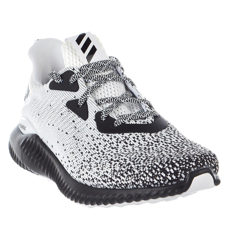 adidas Men's Alphabounce Ck m, Core Black/White/Core Black, 9.5 Medium US by adidas (Image #4)