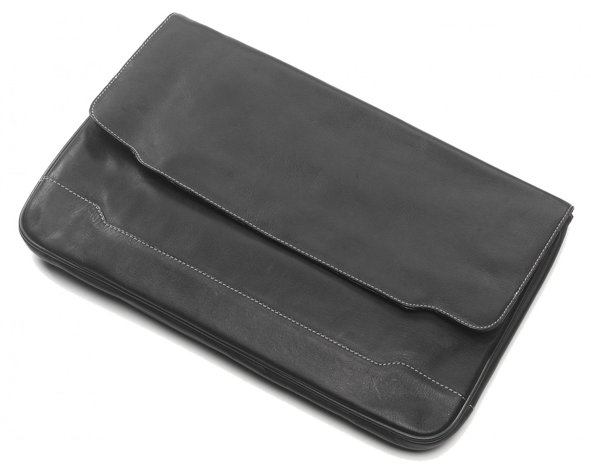 Clava Tuscan Leather Document Folio (Tuscan Black)