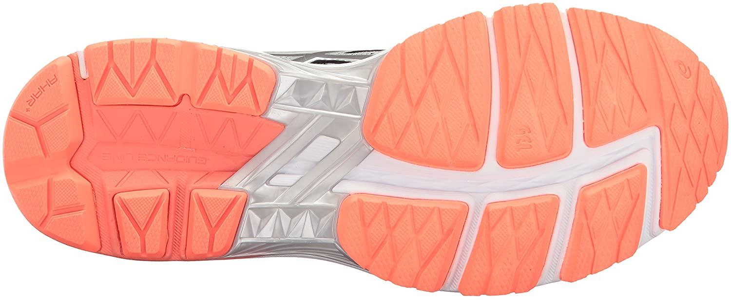 ASICS Women's GT-1000 6 Running Shoe B01N3XQA8D 10.5 D US|Mid Grey/Carbon/Flash Coral