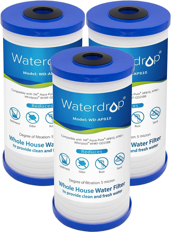 Waterdrop WD-AP810-3 10 x 4.5 PP Sediment Filter
