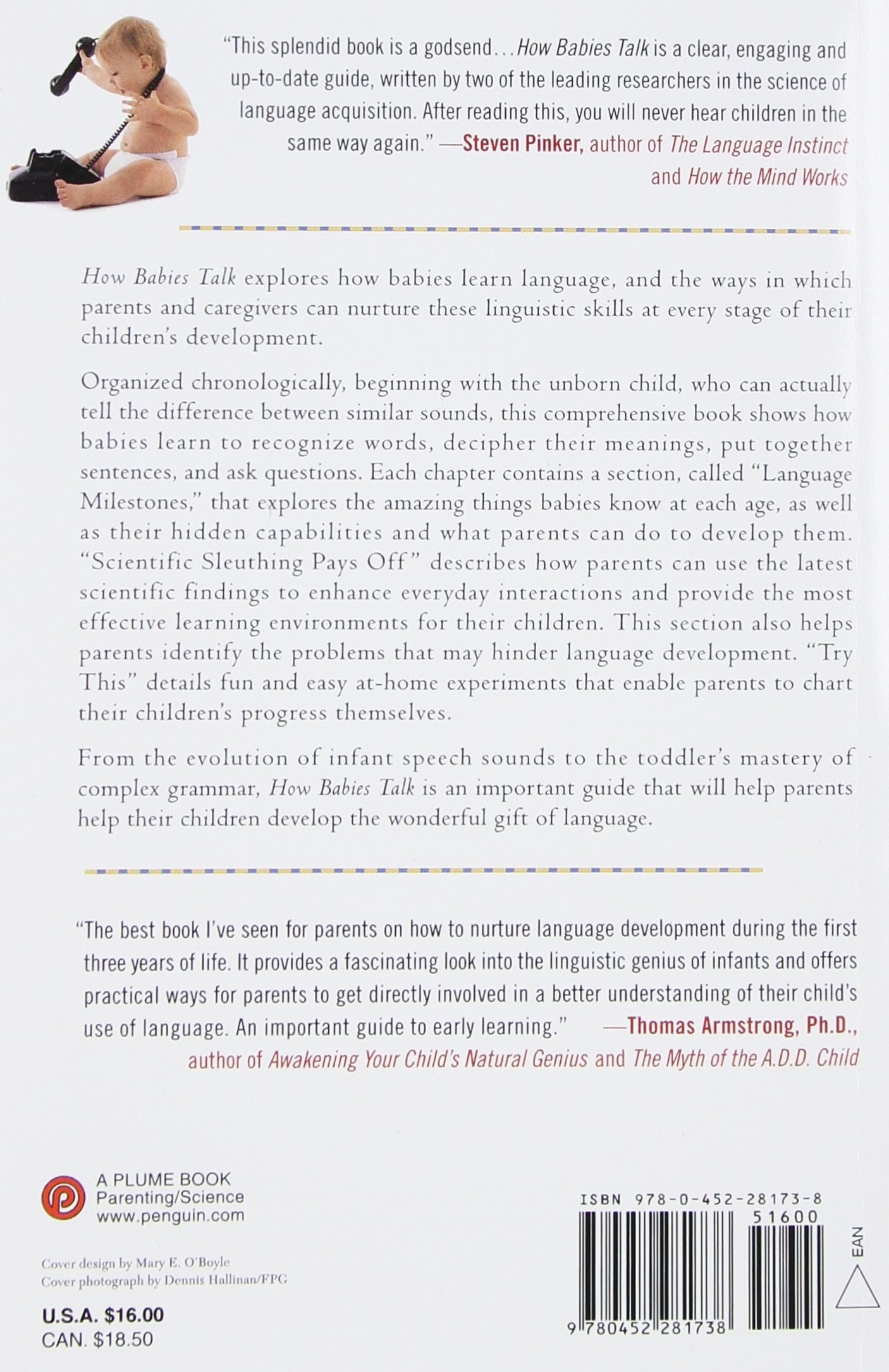 How Babies Talk: The Magic and Mystery of Language in the First ...