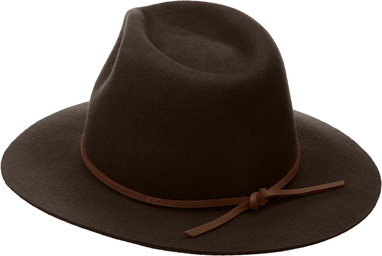 BRIXTON Mens Wesley Fedora Hat