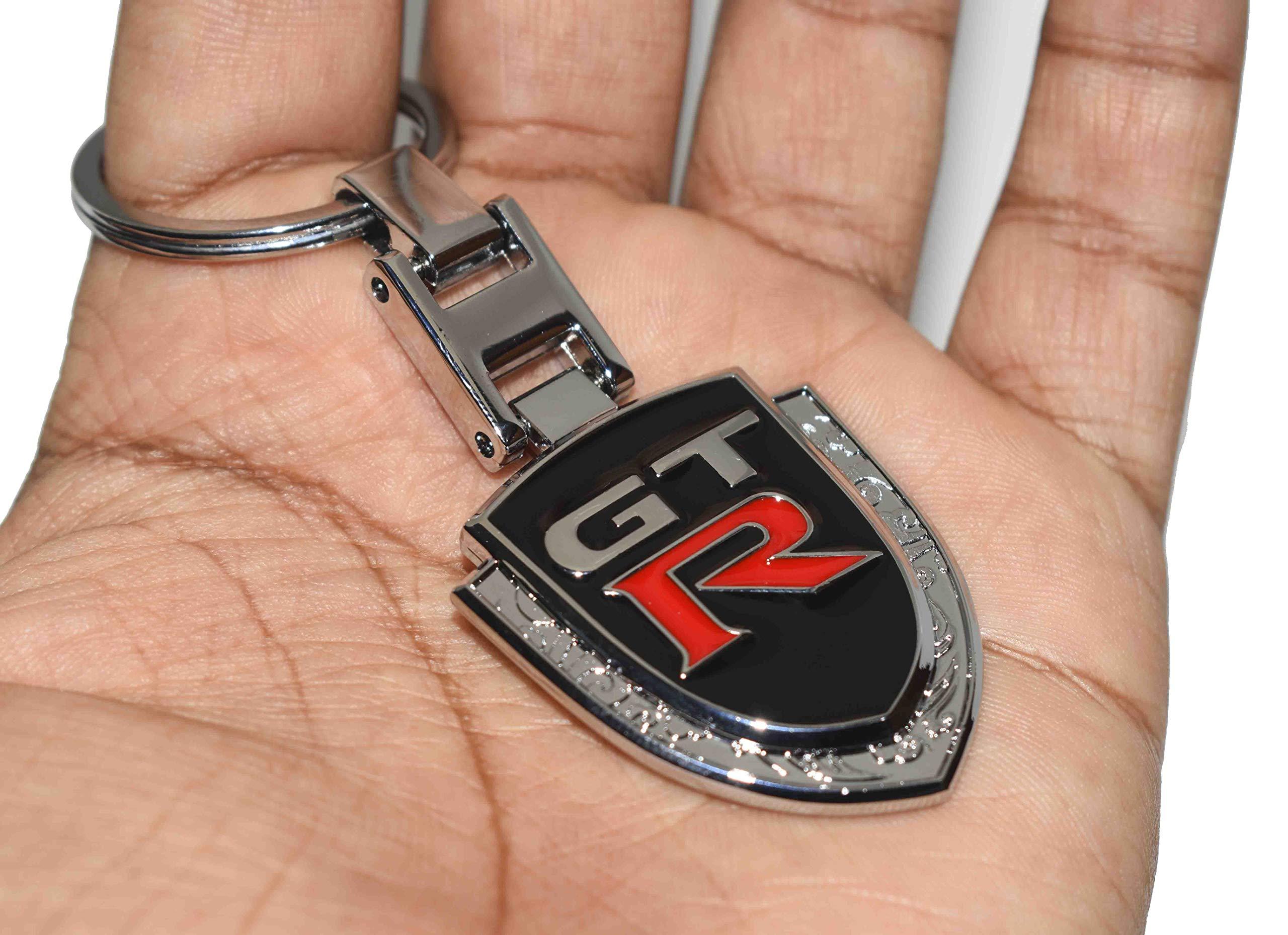 Nissan GTR Logo Car Keychain