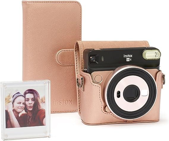 Fujifilm Instax Sq 6 Zubehörset Blush Gold Kamera