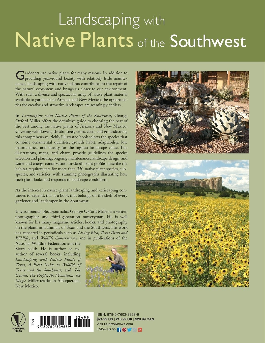 Landscaping With Native Plants Of The Southwest Miller George