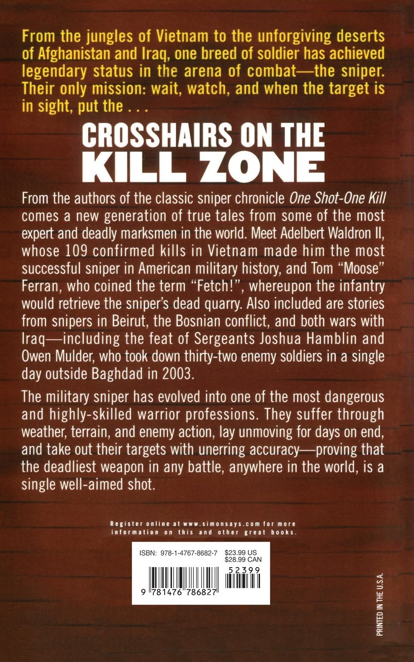 Crosshairs on the kill zone charles w sasser craig roberts crosshairs on the kill zone charles w sasser craig roberts 9781476786827 amazon books fandeluxe Epub