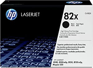 HP 82X (C4182X) Black High Yield Original Laserjet Toner Cartridge Discontinued by Manufacturer