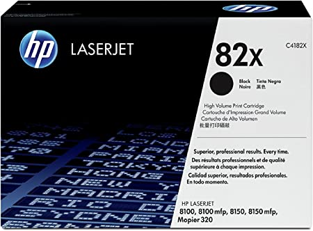Black LD Remanufactured Toner Cartridge Replacement for HP 82X C4182X High Yield
