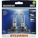 SYLVANIA 9005 SilverStar High Performance Halogen Headlight Bulb, (Contains 2 Bulbs)
