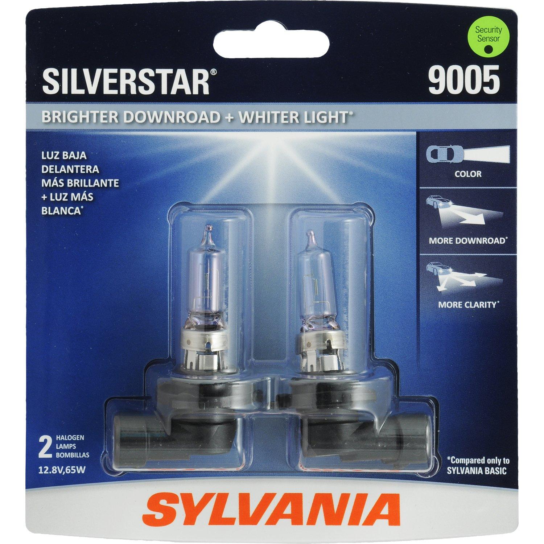 Amazon.com SYLVANIA 9005 SilverStar High Performance Halogen Headlight Bulb (Contains 2 Bulbs) Automotive & Amazon.com: SYLVANIA 9005 SilverStar High Performance Halogen ...