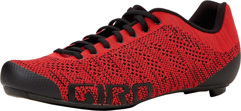 Bright Red//Dark Red 000 Giro Empire E70 Knit Road 8 Men/'s Road Biking Shoes 42 EU Multicolour