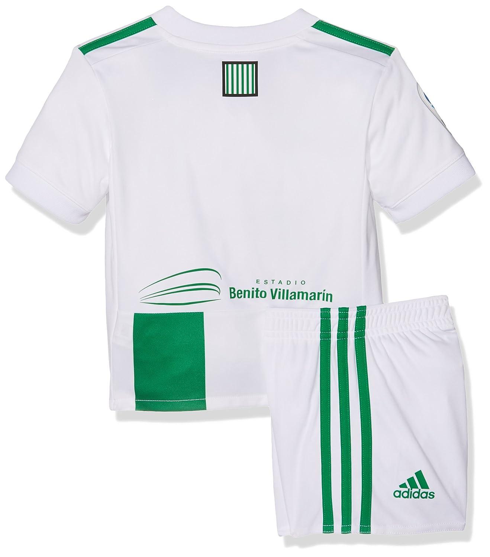 Adidas Betis H Mini Conjunto, Unisex niños, Blanco, 104-3/4 años: Amazon.es: Deportes y aire libre