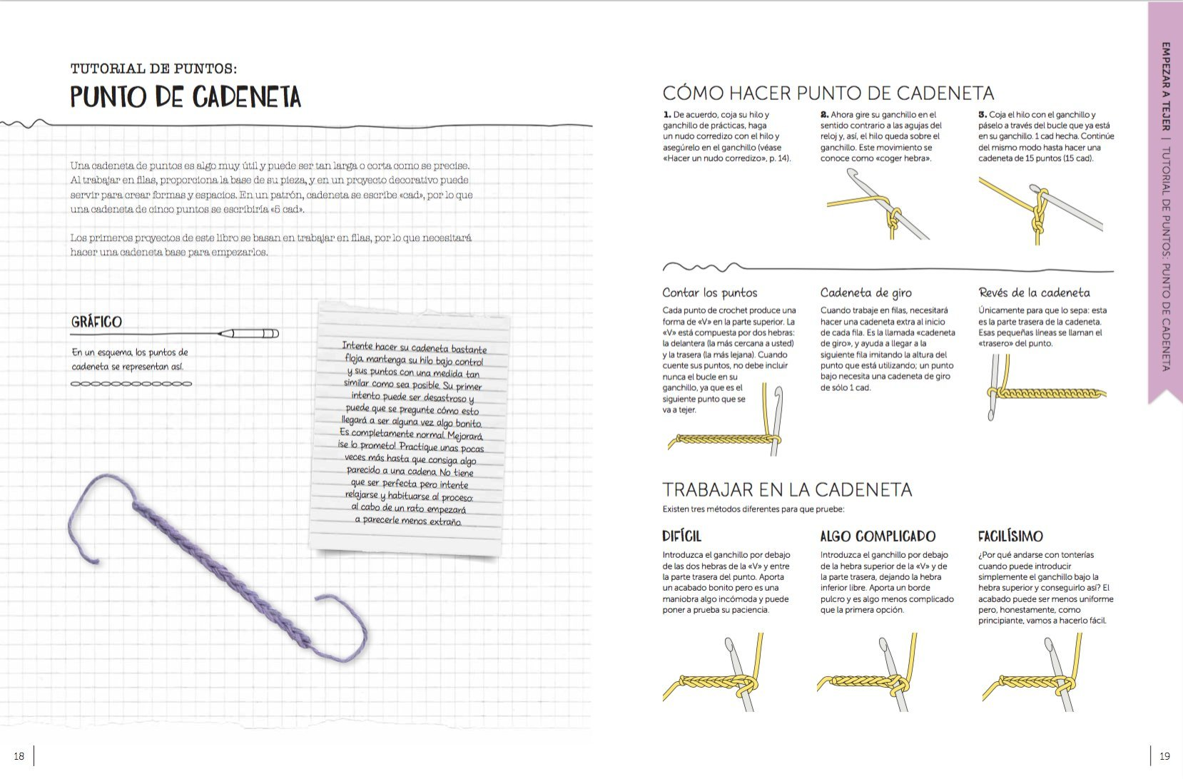 Ganchillo para principiantes: 20 proyectos para aprender a tejer (Spanish Edition): Sarah Shrimpton: 9788416407101: Amazon.com: Books