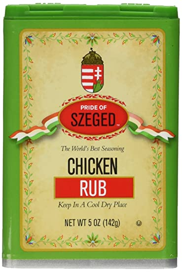 Image result for szeged chicken rub