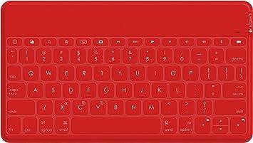 Mgear IPAD-PRO-BT-Keyboard-RED Bluetooth Keyboard Red