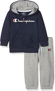 Champion Tuta Bambino Full Zip Suit Bli (XS): Amazon.it