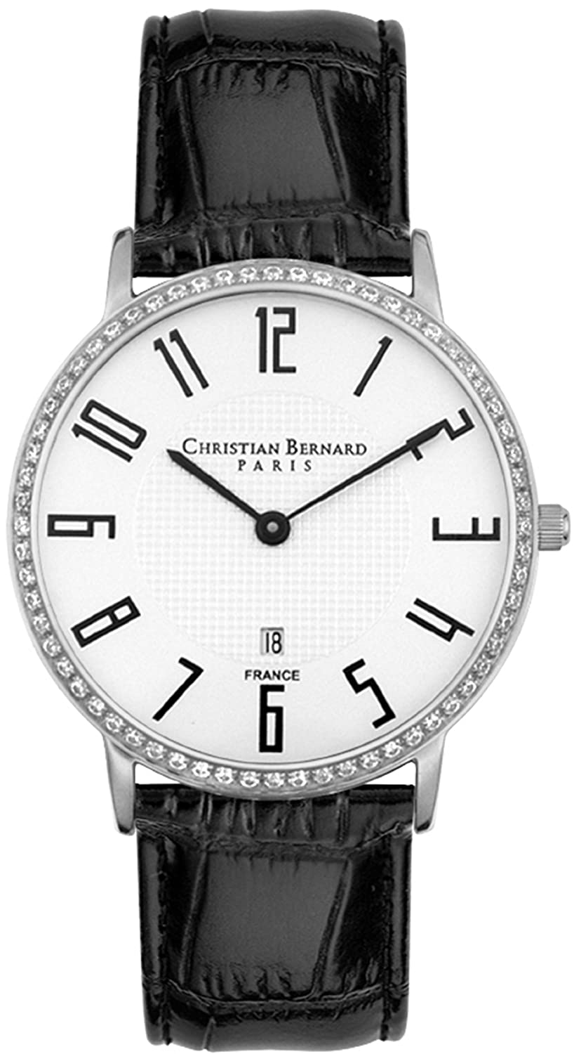 Amazon.com: Christian Bernard Mens Slimlight Watch IA339ZBV: Christian Bernard: Watches