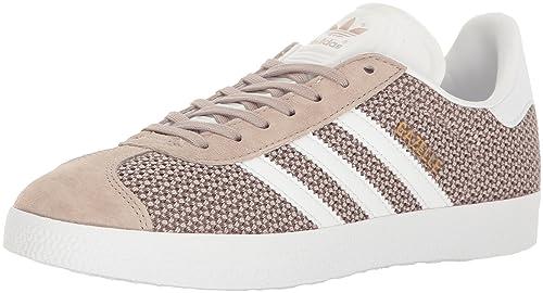 more photos a0df7 ce2d5 adidas Originals Women s Shoes   Gazelle Fashion Sneakers, White Vapour  Green, (6