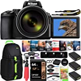 Nikon COOLPIX P950 Compact Digital Camera with 83x Optical Zoom Super Telephoto Lens Bundle Including Triple Battery…