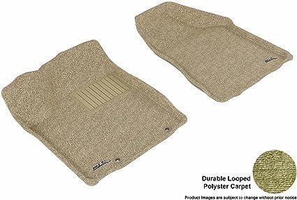 Nylon Carpet Black Coverking Custom Fit Front Floor Mats for Select Pontiac Vibe Models
