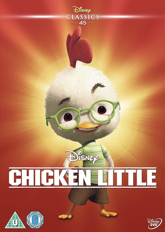 Amazon Com Chicken Little 2005 Limited Edition Artwork Sleeve Dvd Movies Tv