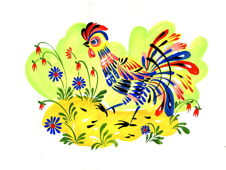 farm rooster bird Tile Mural Kitchen Bathroom Wall Backsplash Art ...