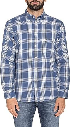 Carrera Jeans - Camisa para Hombre, a Cuadros, Franela Tejido (EU XL): Amazon.es: Ropa y accesorios