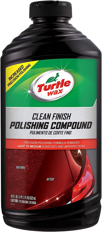 Turtle Wax T-417 Premium Grade Clean Cut Polishing Compound - 18 Oz.: Automotive