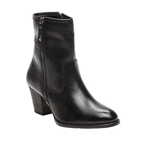 Zerimar Botines de Piel para Mujer| Botines de Tacón | Botines Piel Mujer | Botines Mujer Tacon Medio | Botines Piel Tacon Mujer: Amazon.es: Zapatos y ...