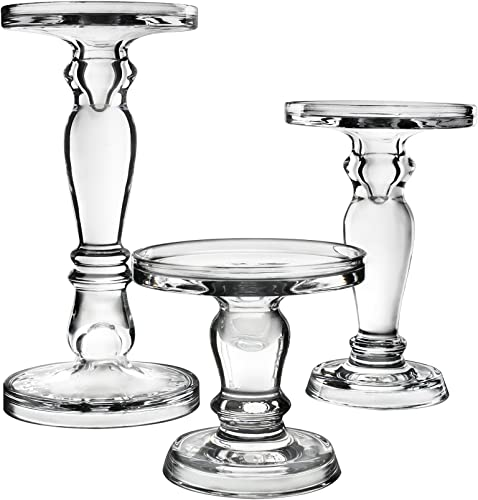 CYS EXCEL Glass Candle Holder