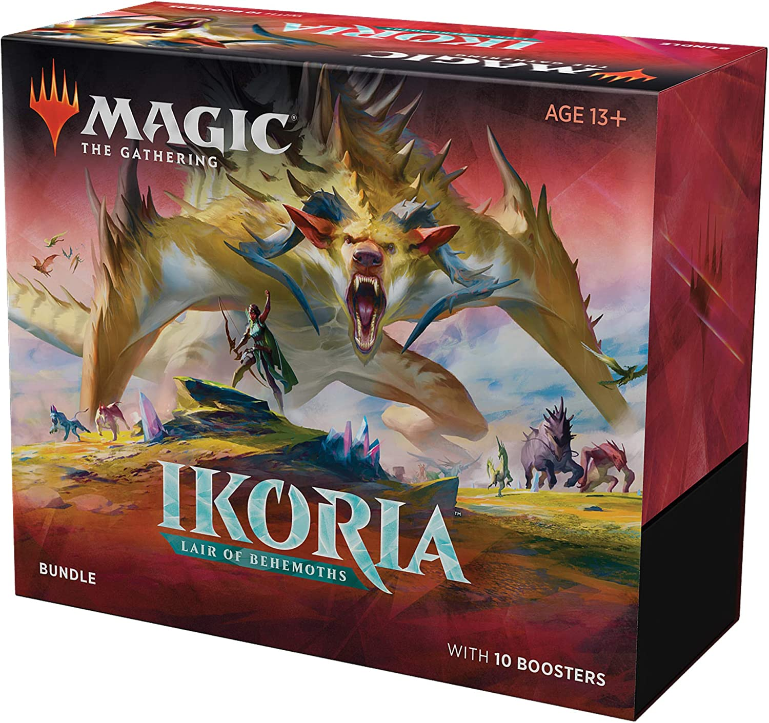 Magic: The Gathering Ikoria Bundle (incluye 10 paquetes de refuerzo) , color/modelo surtido: Amazon.es: Juguetes y juegos