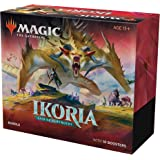 Magic: The Gathering Ikoria: Lair of Behemoths Bundle | 10 Booster Packs (150 Cards) | Foil Lands | Accessories
