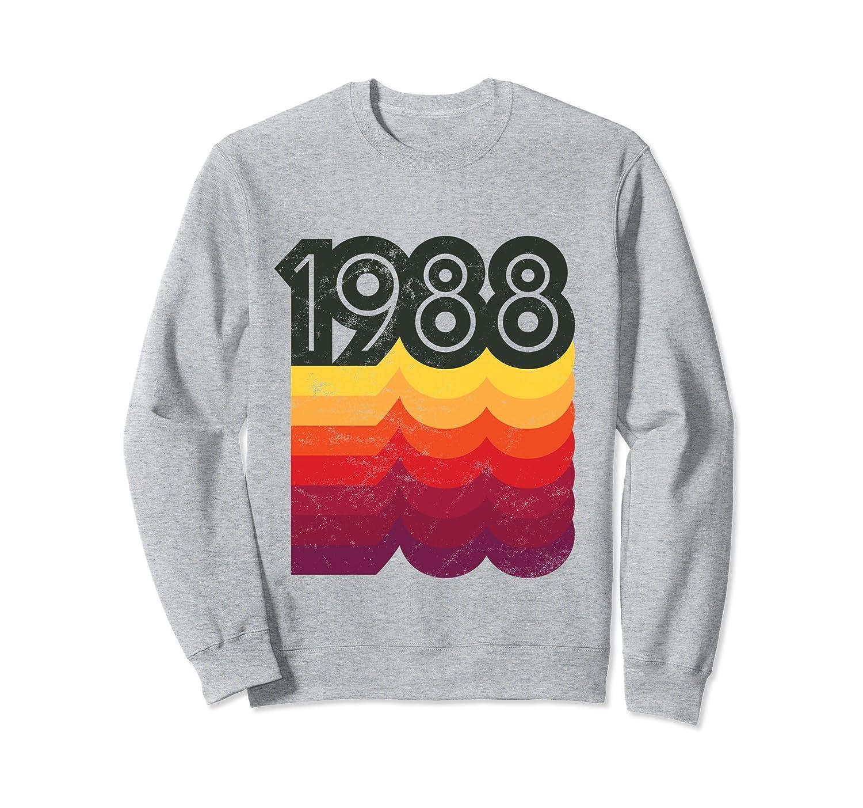 1988 Vintage 80s Themed 30th Birthday Sweatshirt-alottee gift