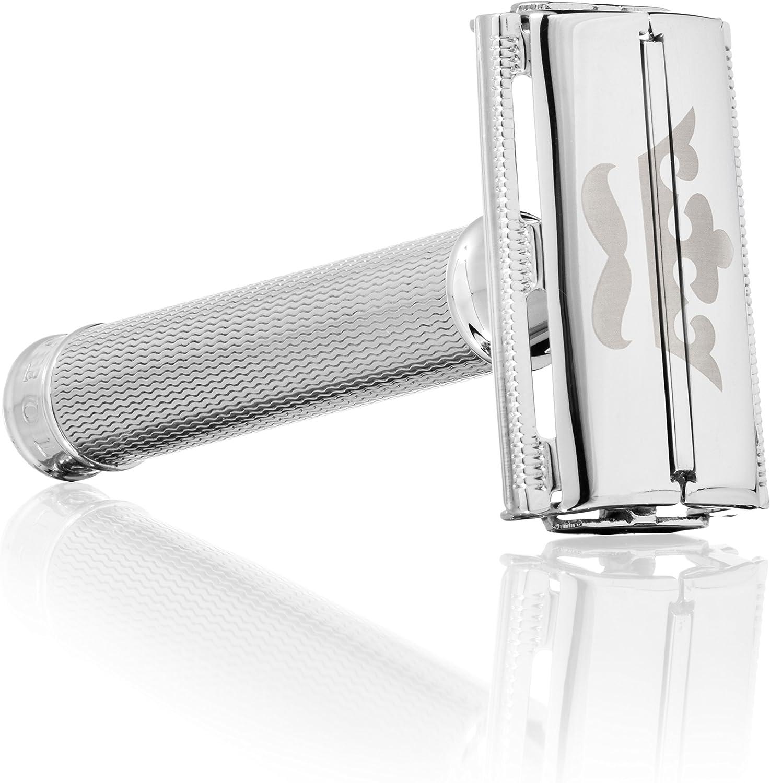 Shaveology - Set de Afeitado en Húmedo con Maquinilla de Afeitar ...