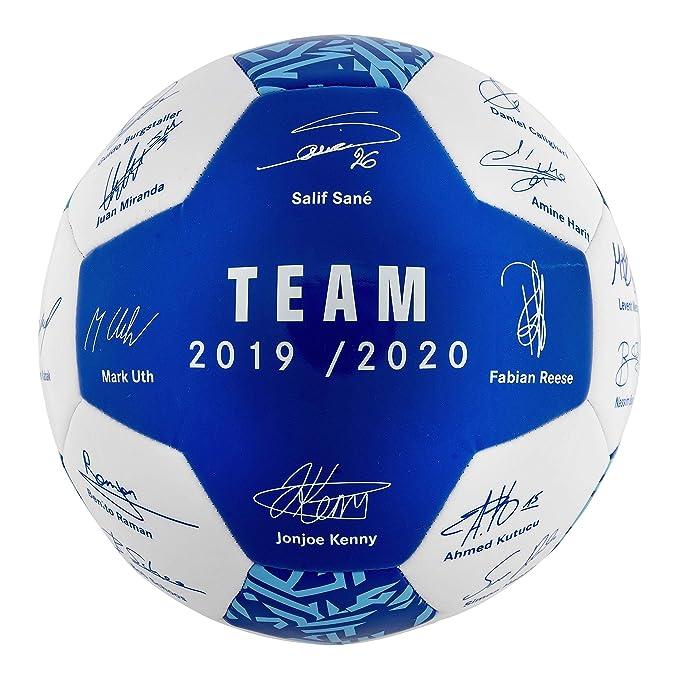 FC Schalke 04 Team Ball 19/20 - Balón de fútbol, Deutsche ...