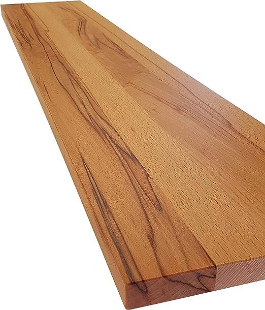 Wandboard Badezimmer Spiegelbrett Brett Ablage Holzablage mit Vertiefung versch